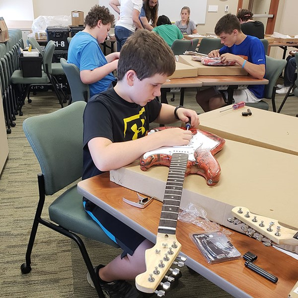 2018 Guitar Building Camp