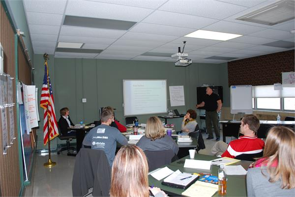 Administrators at Kings Receive YMHFA Training