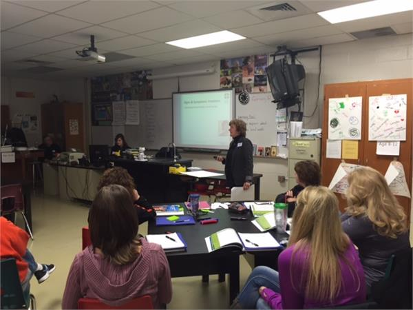 School Staff at Waynesville Receive YMHFA training