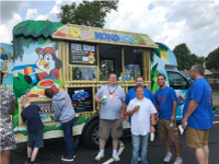 Kona Ice at First Day of School at WCLC